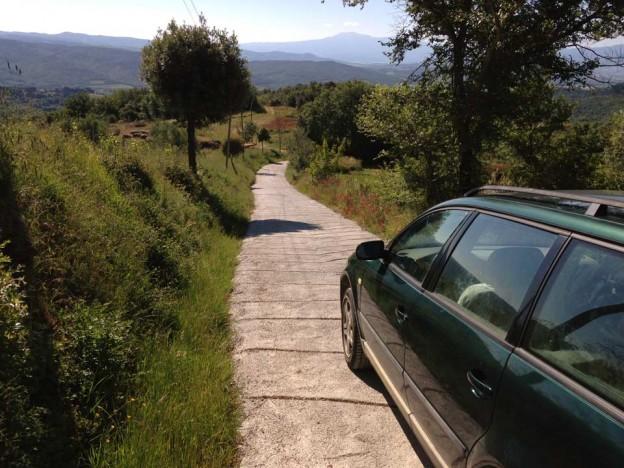 Giugno 2014, nuova strada per Vignali